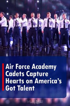 A Cappella Air Force Cadets WOW AGT, Simon Brings One Young Soldier To Tears (After just around 30 seconds, the reaction of the audience and judges changed... ) #airforce #acapella #music #agt America's Got Talent Videos, Air Force Academy, Tyra Banks, Judges, 30 Seconds, Looking Back, The Voice, Concert, Music