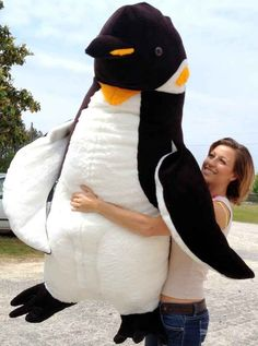 And finally, this giant 5-foot plush that you have no room or money for, but will seriously consider purchasing anyway.