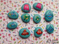 ¡Cactus que no pinchan! Diy Y Manualidades, Rock Painting Ideas Easy, Rock Art, Painted Rocks, Crafts For Kids, Home Decor, Baby Room Girls, Early Education, Home