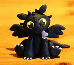 How to make Baby Toothless (Dragon) Step by Step