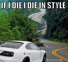 Nissan Silvia the ultimate drifter Car Jokes, Funny Car Memes, Car Humor, Nascar Memes, Chevy Jokes, Funny Pics, Hilarious, Nissan Silvia, Tuner Cars
