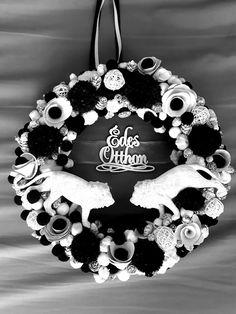 #noridekor #egyedi #dekoráció Crown, Wreaths, Halloween, Jewelry, Home Decor, Corona, Jewlery, Decoration Home, Door Wreaths