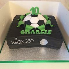 Cozy Design Xbox Birthday Cake FIFA Pinteres Soccer Cakes 18th