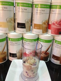 Herbalife protein shake recipes - playing with colour