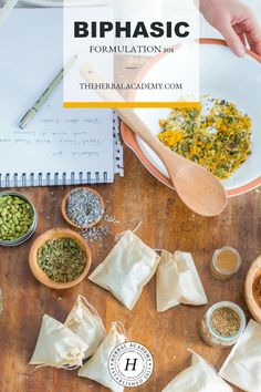 Biphasic Formulation 101 | Herbal Academy | Interested in learning more about balancing the menstrual cycle? A biphasic formulation is one way to positively change menstrual symptoms for good!