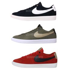 Nike Blazer Low GT QS Grant Taylor SB Mens Skateboarding Shoes Sneakers Pick 1  See more SB style at: http://www.ebay.com.au/cln/acrossports/Skateboarding/166594153016