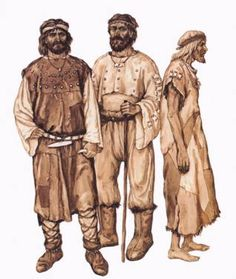 Resultado de imagen de Clothing in prehistory