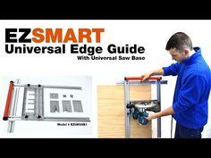 (2) EZSMART Universal Edge Guide - YouTube