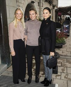 Princess Sofia of Sweden (right) attends a lunch on the theme of social entrepreneurship and sustainability at Hotel Diplomat on November 29, 2016 in Stockholm, Sweden.