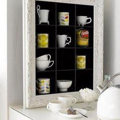 Teacups display idea