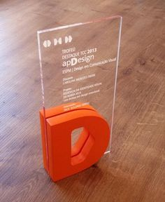 Award Trophy Design