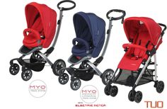 Foppapedretti strollers in the UK three models each available in two colours