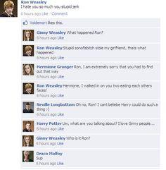 "harrypotterfacebookconvos: "" dramione """