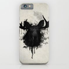 #moose #elk #deer #antlers #animal #iphone #case