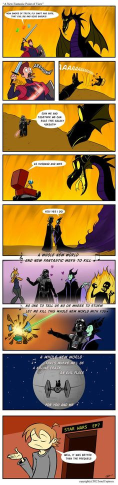 a whole new world darth vader edition