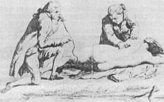 """Era realmente um procedimento médico colocar um tubo """"lá"""" e soprar fumaça de cigarro para dentro do sujeito doente. E isso aconteceu até o século XIX. O tratamento era usado para aliviar dores de cabeça, de estômago, cólicas e, ironicamente, problemas respiratórios."""
