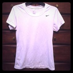 Selling this Nike Dri-fit T-shirt in my Poshmark closet! My username is: krae503. #shopmycloset #poshmark #fashion #shopping #style #forsale #Nike #Tops