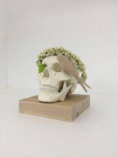 HOME SWEET HOME  #art #sabrinabertolelli #skull #skully