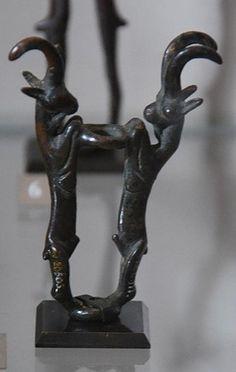 Орнамент и стиль в ДПИ - Сокровища Луристана (Lorestān bronze) из Лувра. XIII - VI в.в. до н.э.