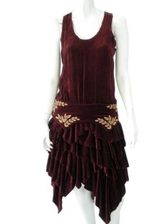 Norio Nakanishi's Dress with flounces. Price $351.00