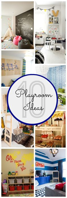 These awesome playroom ideas will take the guesswork out of creating a personalized space for your kiddos! - www.classyclutter.net