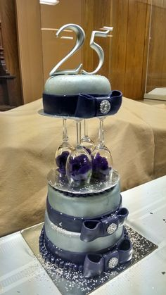 Friends 25th anniversary cake! Beautiful!