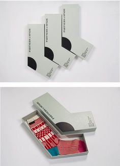 Christmas socks by Partners & Spade: Cosmetic Packaging, Brand Packaging, Label Design, Box Design, Package Design, Laura G, Underwear Packaging, Gift Wrapping Techniques, Clever Packaging