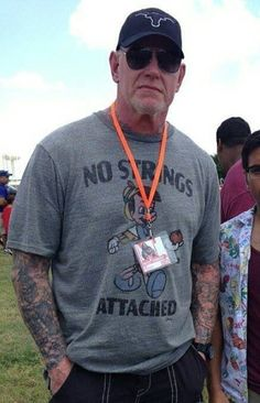 Mark Calaway I The Undertaker l We.... I love this Man and all he represents # undertaker #thephenom