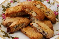 Greek Sweets, Greek Desserts, Greek Recipes, Greek Cookies, Almond Cookies, Biscuit Cookies, Cake Cookies, Sweets Cake, Biscotti