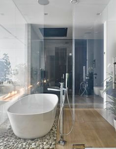 Country House, Moscow, 2014 - Aleksandra Fyodorova Bureau #bathroom