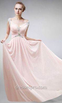 Blush Floor Length masquerade dress