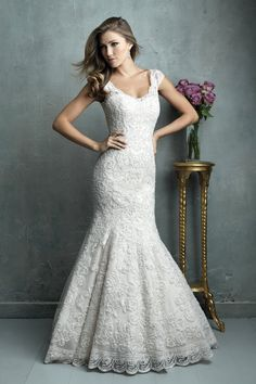 Wedding gown by Allure Couture