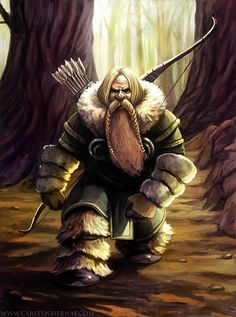 Old but Gold- Dwarf Hunter by carstenbiernat.deviantart.com on @deviantART