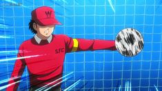 Genzo Wakabayashi Captain Tsubasa (2018) Captain Tsubasa, Old Anime, Anime Guys, Avengers, Naruto Drawings, The New Wave, Anime Profile, Sasuke, Nihon