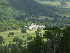 Taymouth Castle Scottish Highlands