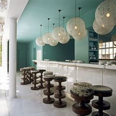 Interior Design Project by India Mahdavi  #frenchinteriordesign #architecturedinterieur