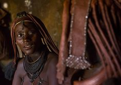 Himba Women Inside Their Hut, Epupa, Namibia   © Eric Laffor…   Flickr