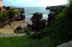Playa de Las Mujeres. Llanes, Concejo de Llanes. Principado de Asturias. Spain.   {By Valentin Enrique].