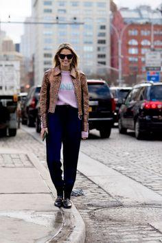 Le foto street style dalla New York Fashion Week Autunno Inverno 2017-2018