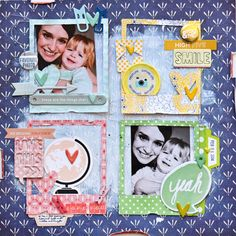 FAVORITE PHOTO scrapbook layout by Paige Evans - Scrapbook Expo - Weekly Scrapper