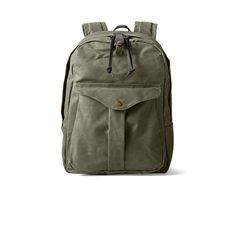 Journeyman Backpack In Otter Green Front View