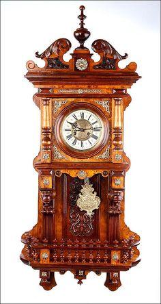 Reloj de Pared Antiguo Kienzle