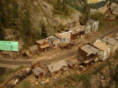 The Great Canadian Railway Lumber town