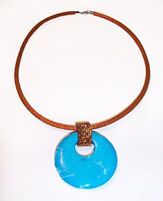 Beading Arts: A simple square stitch bail for a donut pendant --  could work well for attaching pendant to kumihimo rope