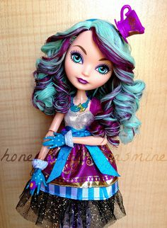 Madeline Hatter | The details on this doll are amazing! Her … | Flickr