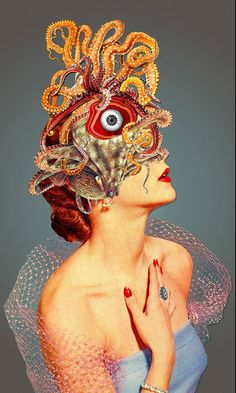 Eugenia Loli Mind Alteration mixed-Media Collages | Trendland