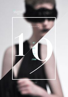 Graphic Design LSAD Graduate Fashion Show 2013