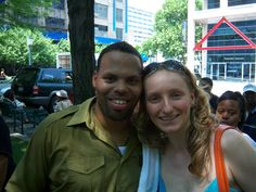 ERIC ROBERSON + ROSWITHA
