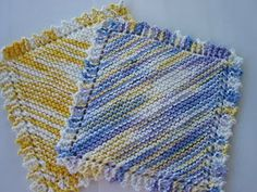 Warm Thoughts: New dish Cloth Pattern!