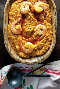 Vatapá (Brazilian Shrimp Stew) ~ While many of the other ingredients are subject to interpretation, this adaptable stew from the Brazilian state of Bahia always features coconut milk and palm oil, which provide a luxurious texture and signature floral flavor.